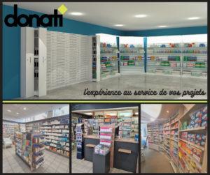 Aménagement d'une pharmacie